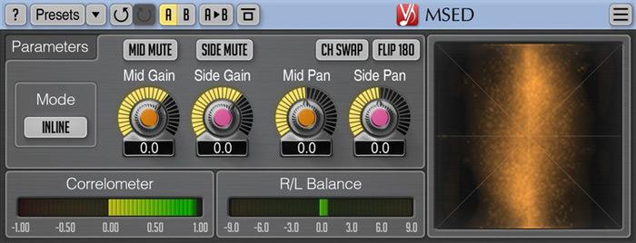 Voxengo MSED plugin Version 3 1